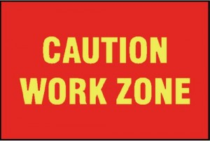 CAUTION / WORK ZONE